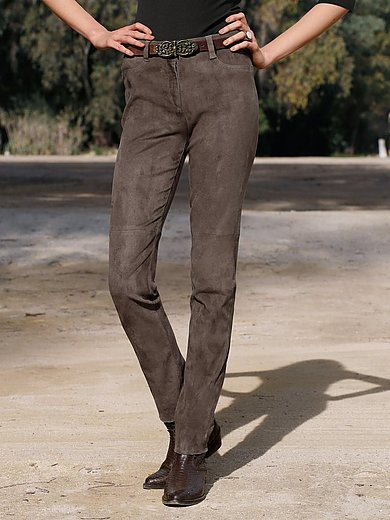 Brax Feel Good - Lederhose Modell SHAKIRA LEATHER aus Lammvelours