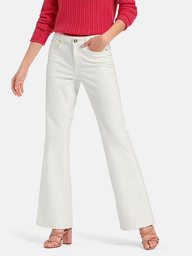 Laura Biagiotti Roma - Bootcut jeans in 5-pocket style