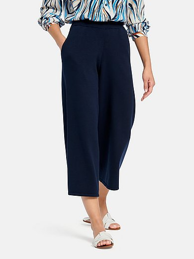Peter Hahn - Knit culottes in 100% cotton