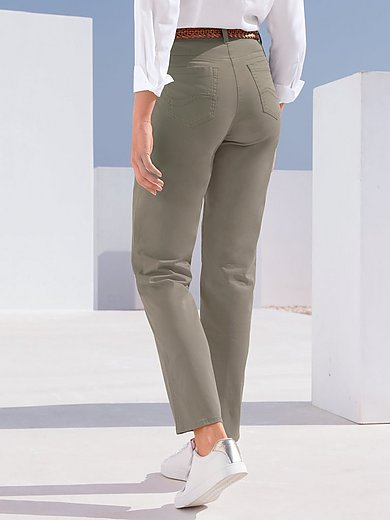 Brax Feel Good - Feminine fit broek model Nicola van PIMA COTTON