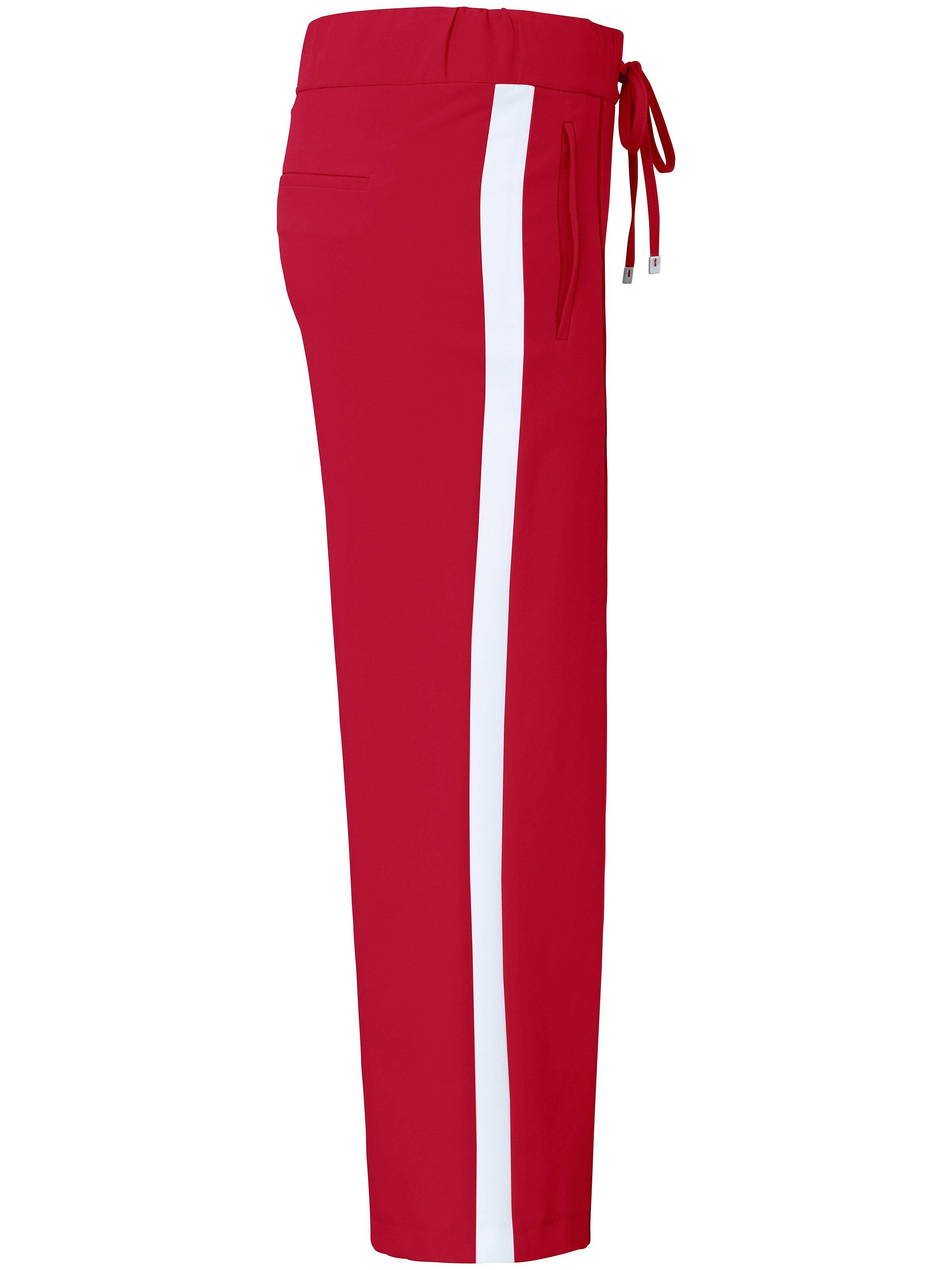 Bekvem Wide Leg-buks Fra DAY.LIKE rød
