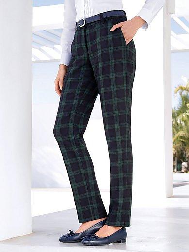 Peter Hahn - Le pantalon à carreaux tartan