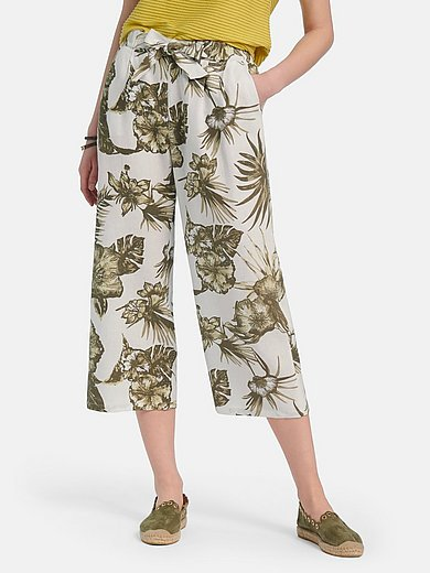 Betty Barclay - 7/8-length pull-on trousers