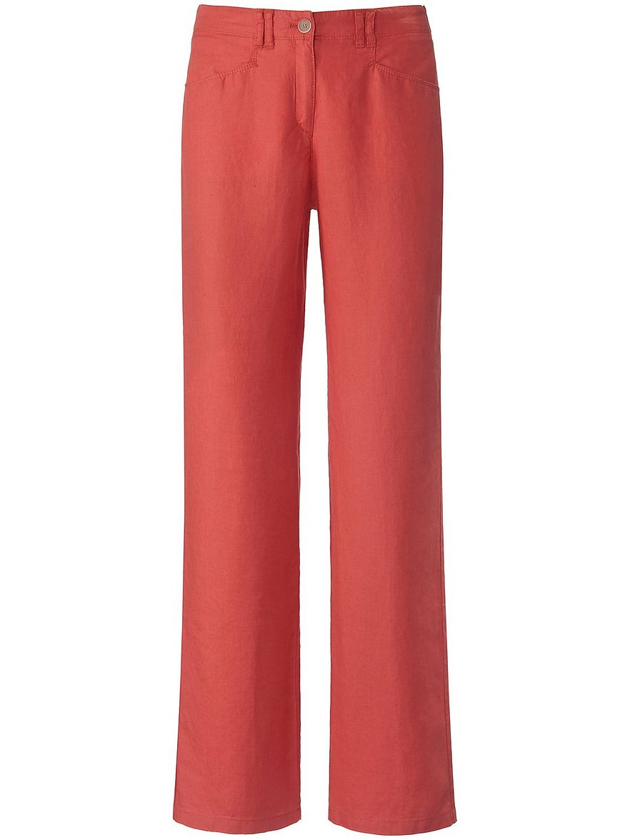 brax feel good - Hose Feminine Fit Modell Farina  rot Größe: 40