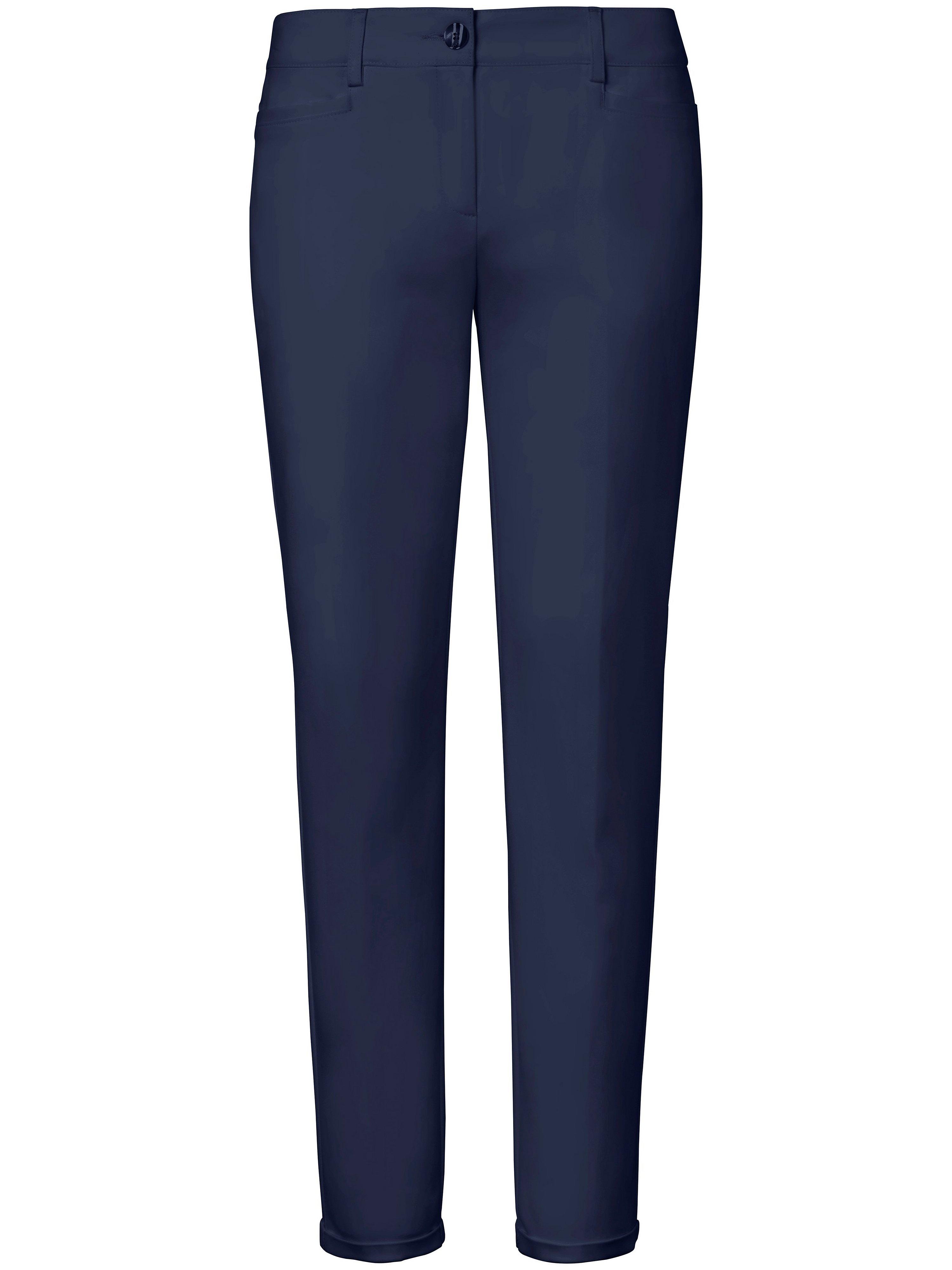 Enkellange pantalon Van Fadenmeister Berlin blauw