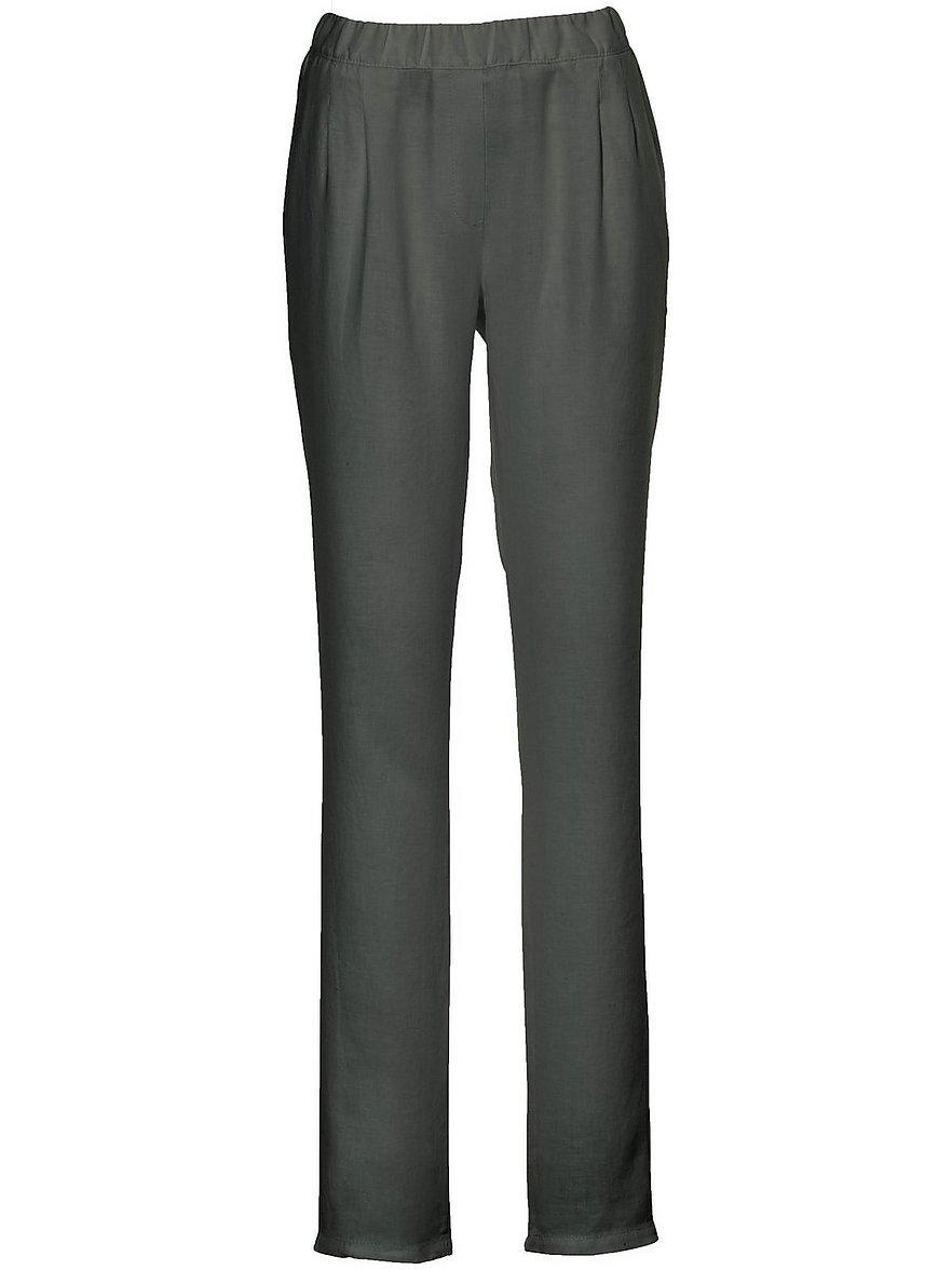 peter hahn - Schlupf-Hose im Chino-Stil  grün Größe: 19