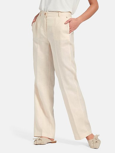 Basler - Trousers design Bea in 100% linen