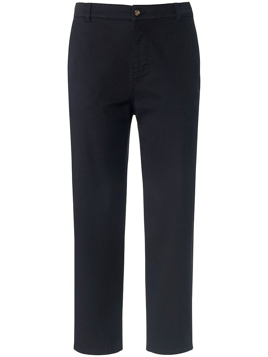 day.like - 7/8-Slim Fit-Hose  blau Größe: 19