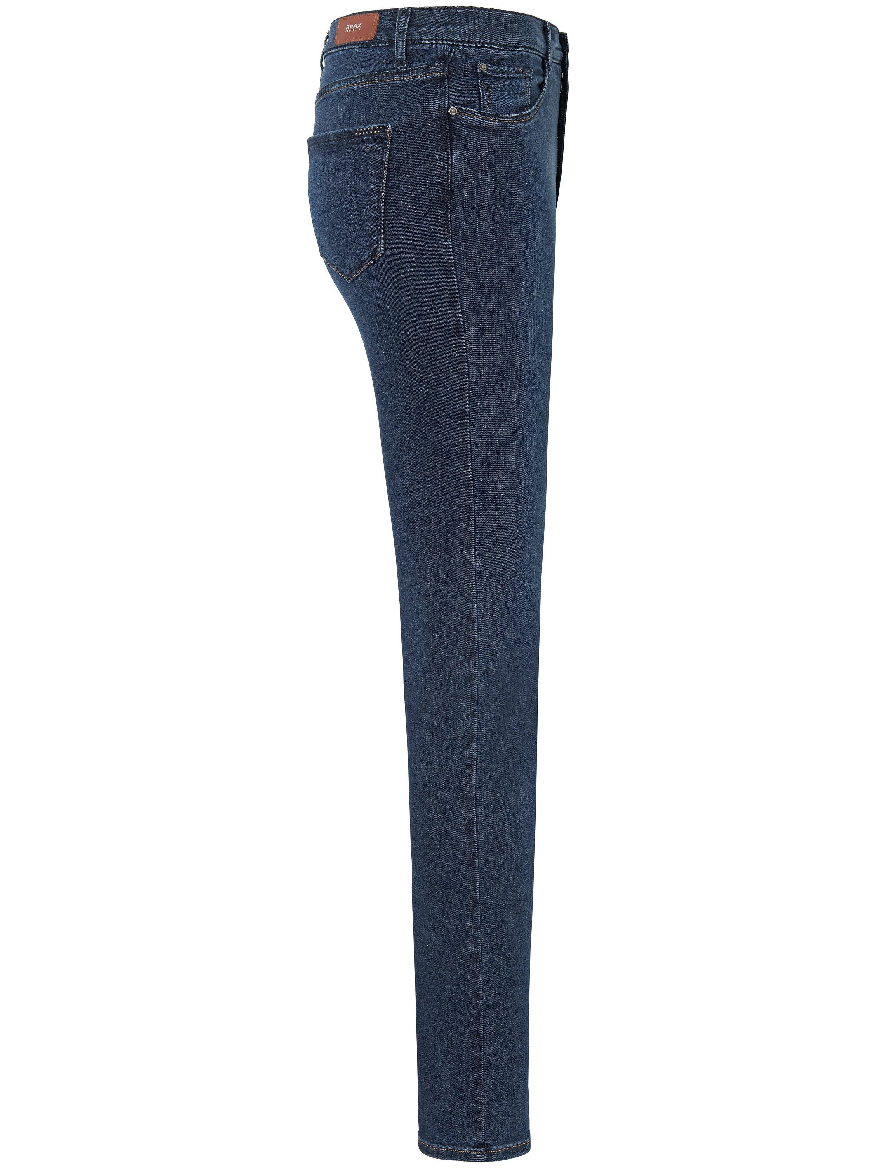 Feminine Fit-jeans model Nicola Fra Brax Feel Good denim