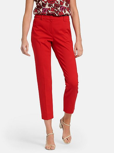 St. Emile - Ankle-length jersey trousers with slim leg