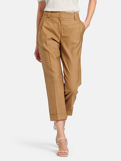 Fadenmeister Berlin - 7/8-length trousers in new wool mix
