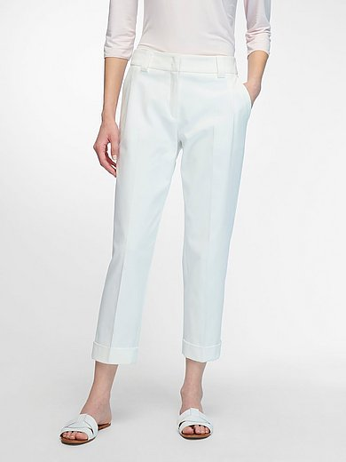 Fadenmeister Berlin - 7/8-length trousers with turn-ups