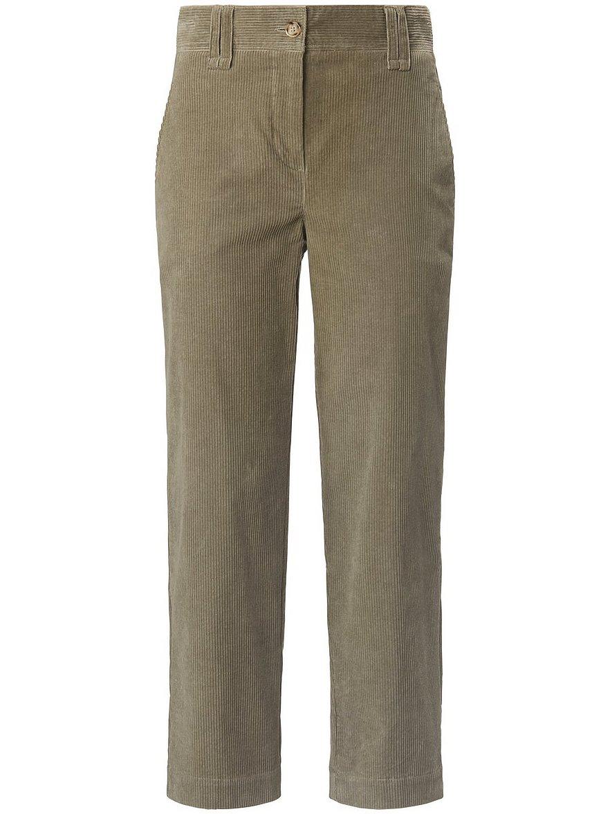 day.like - Wide Leg-7/8-Hose  beige Größe: 48