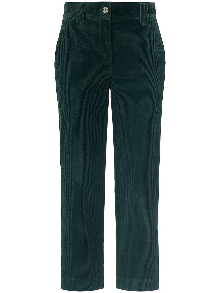 day.like - Wide Leg-7/8-Hose  grün Größe: 36