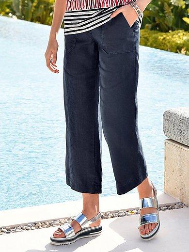 Brax Feel Good - 7/8-broek model maine sport van 100% linnen