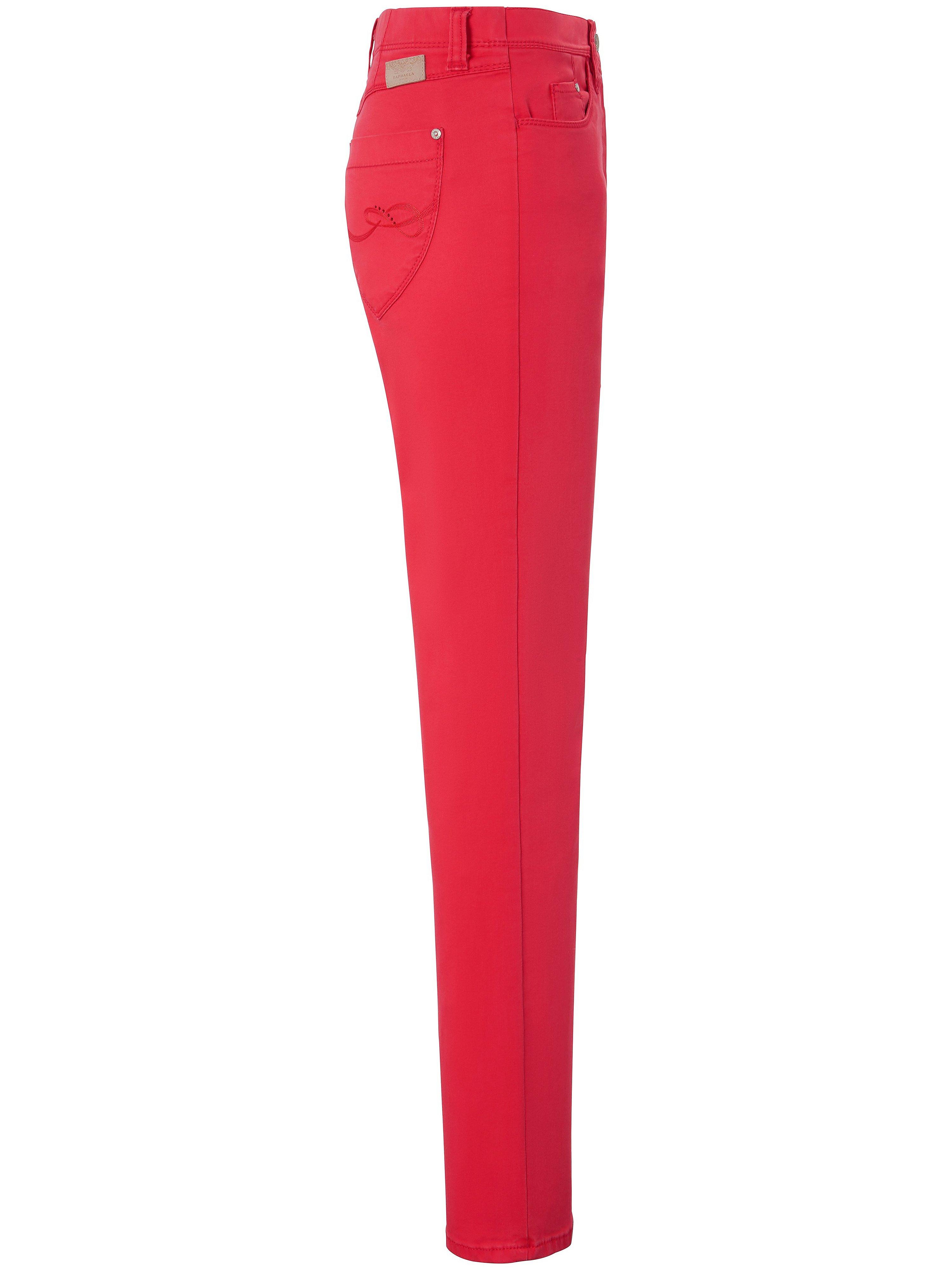 ProForm S Super Slim-jeans model Laura Touch Fra Raphaela by Brax rød