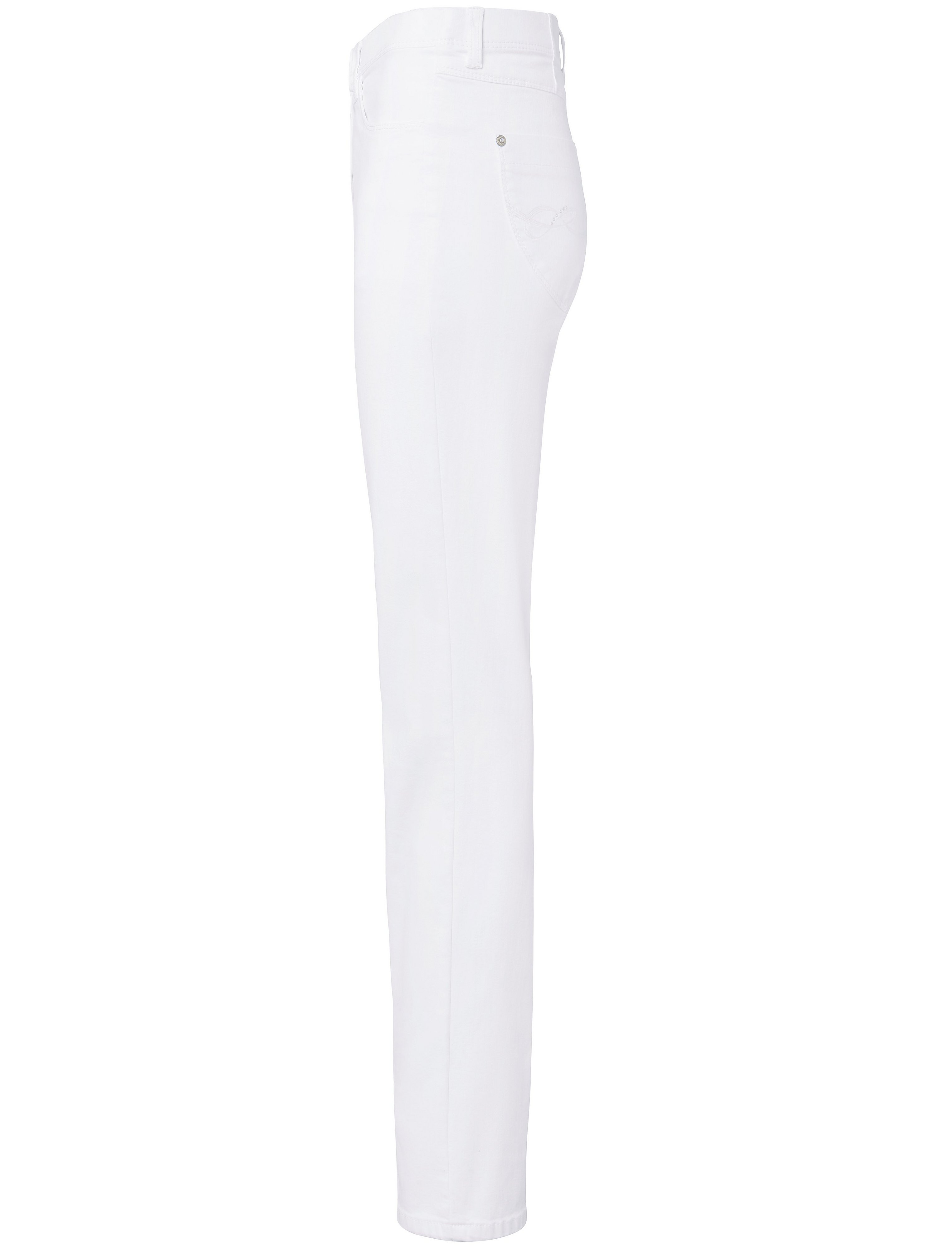 ProForm S Super Slim-jeans model Laura Touch Fra Raphaela by Brax hvid
