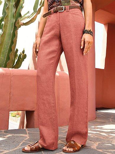 Brax Feel Good - Le pantalon Feminine Fit en pur lin, modèle Farina