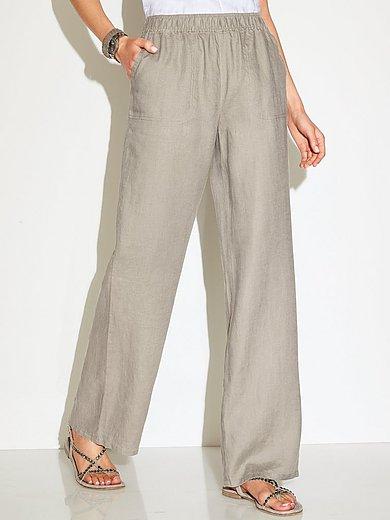 pantalon femme en lin