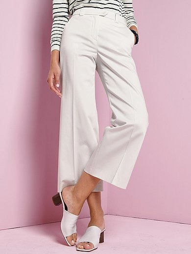 Windsor - 7/8-length trousers in Marlene style