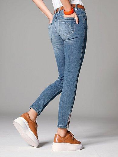 Glücksmoment - Ankellånga Skinny-jeans modell Gill