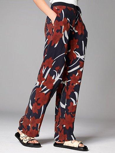 Margittes - Le pantalon à imprimé fleuri