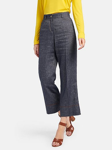 Schneiders Salzburg - Ankle-length trousers with wide leg