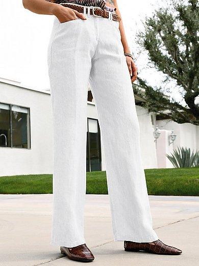 Brax Feel Good - Feminine Fit-broek model Farina van 100% linnen
