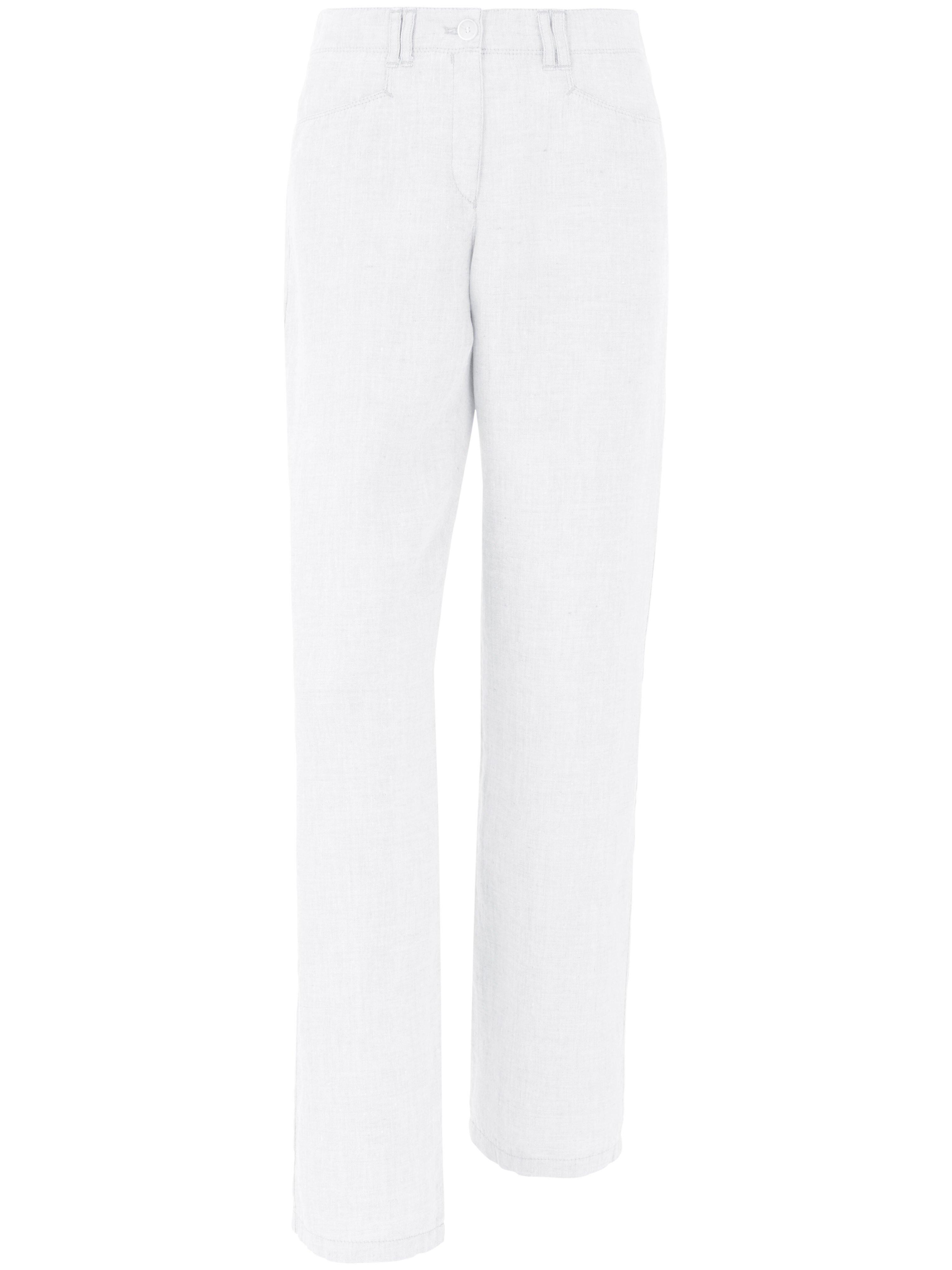 Damen Hose Feminine Fit Modell Farina Brax Feel Good weiss | Plus Size | 04044815674298