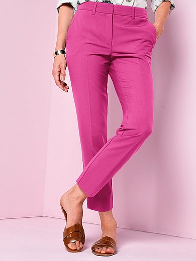 Marella - 7/8-length trousers in low-crease woven fabric