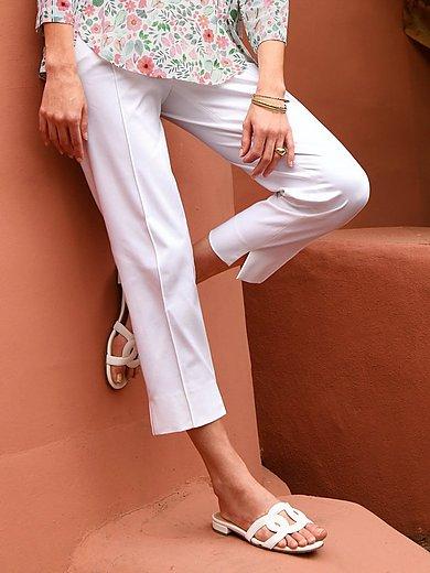 Riani - Le pantalon 7/8 à plis nervurés