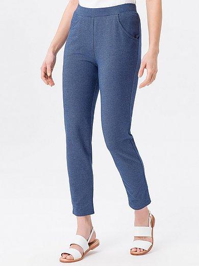 Green Cotton - Le pantalon 7/8 aspect denim, ligne près du corps