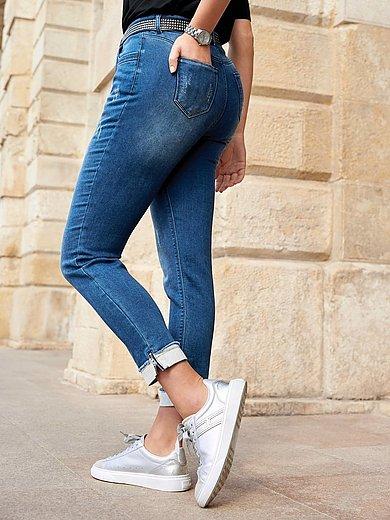 Emilia Lay - Knöchellange Jersey-Jeans