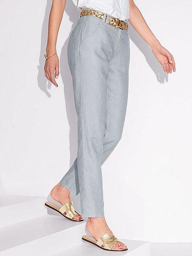 Brax Feel Good - Modern Fit-broek model Melo van 100% linnen