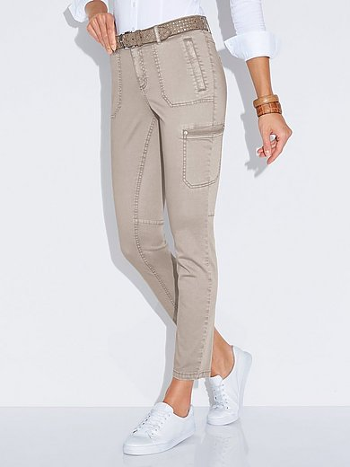 MYBC - Le pantalon cargo longueur chevilles coupe Barbara