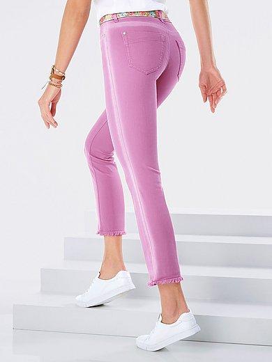 Peter Hahn - Ankellange jeans i pasformen Barbara