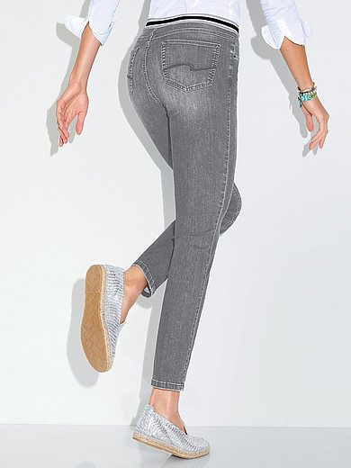 ANGELS - Ankellange jeans Skinny Sporty