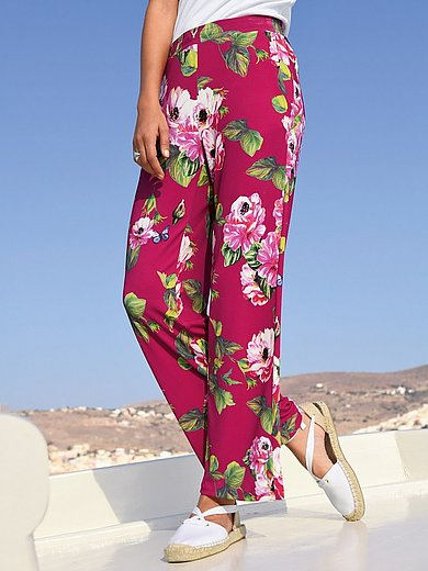 Margittes - Pull-on jersey trousers