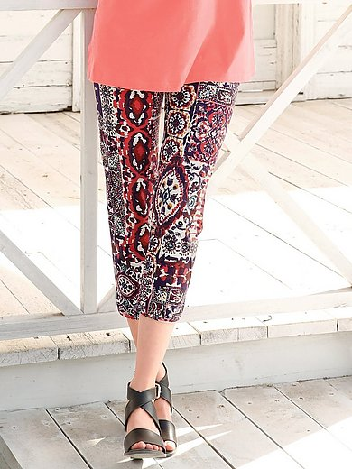 Green Cotton - Patchwork trousers