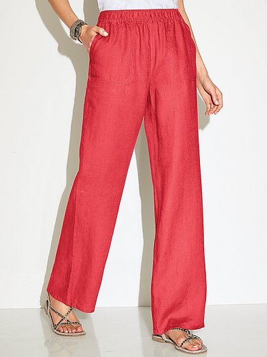 Peter Hahn - Pull-on trousers Cornelia fit in 100% linen
