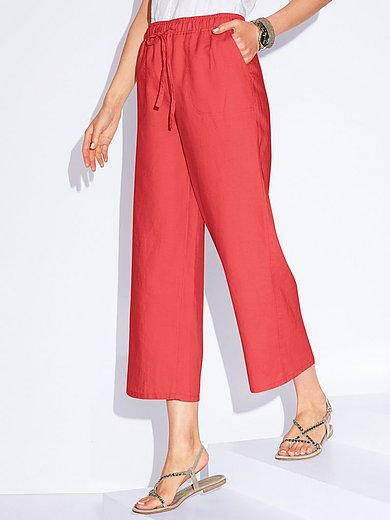Peter Hahn - Le pantalon 7/8 100% lin