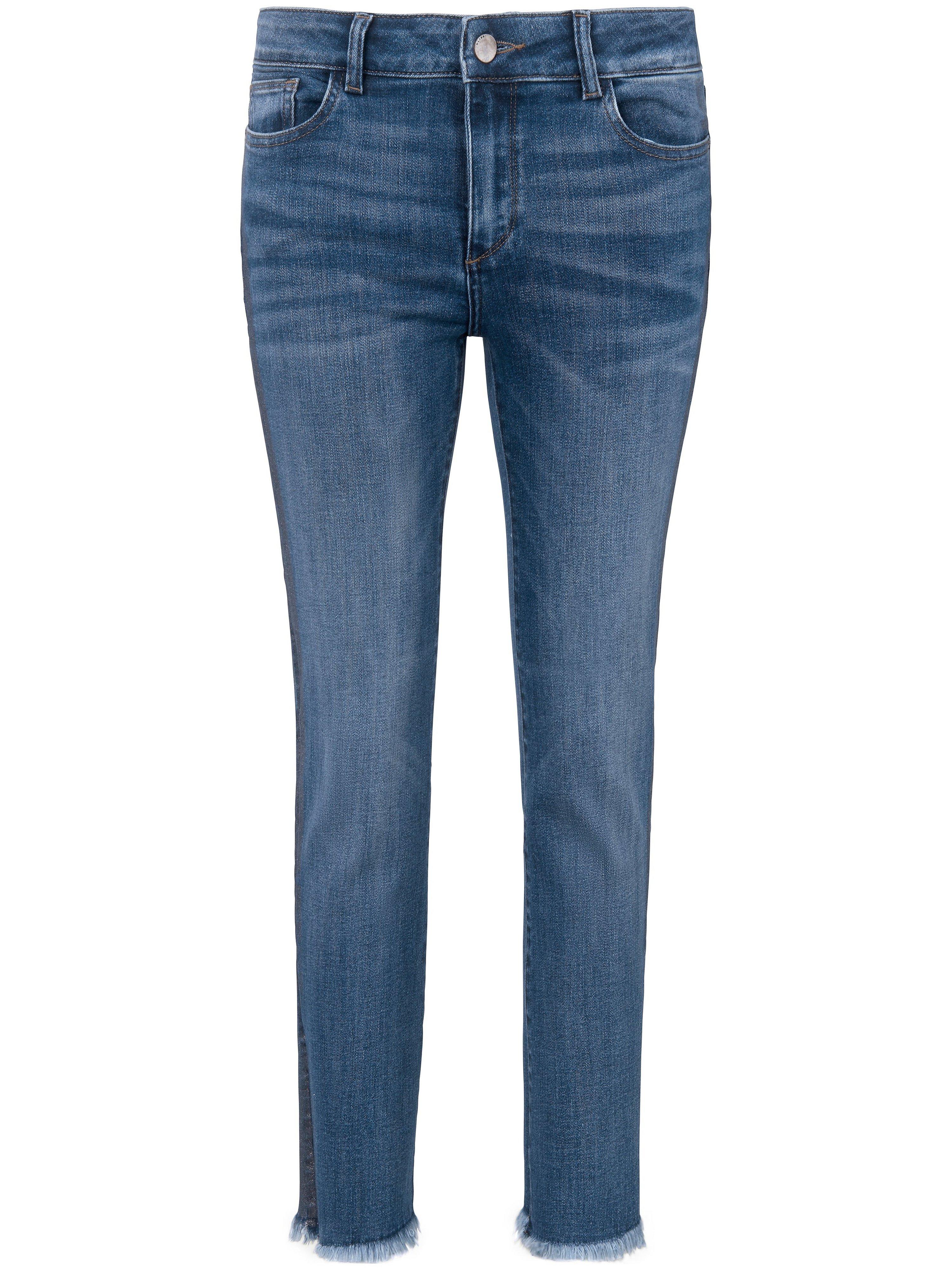 Enkellange jeans model Mara Ankle Van DL1961 denim