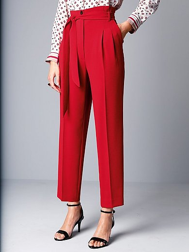 Marella - High-waisted trousers