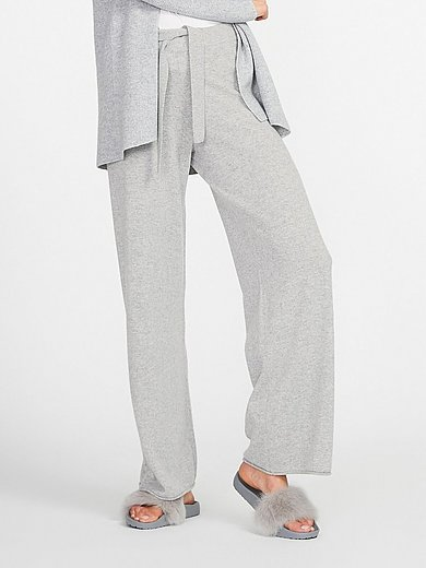 include - Knitted trousers in 100% cashmere