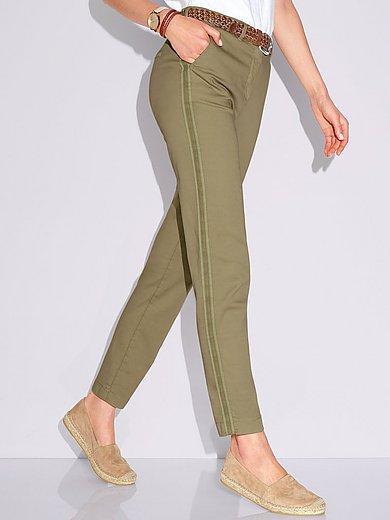 Toni - Enkellange broek pasvorm Slim Fit CS