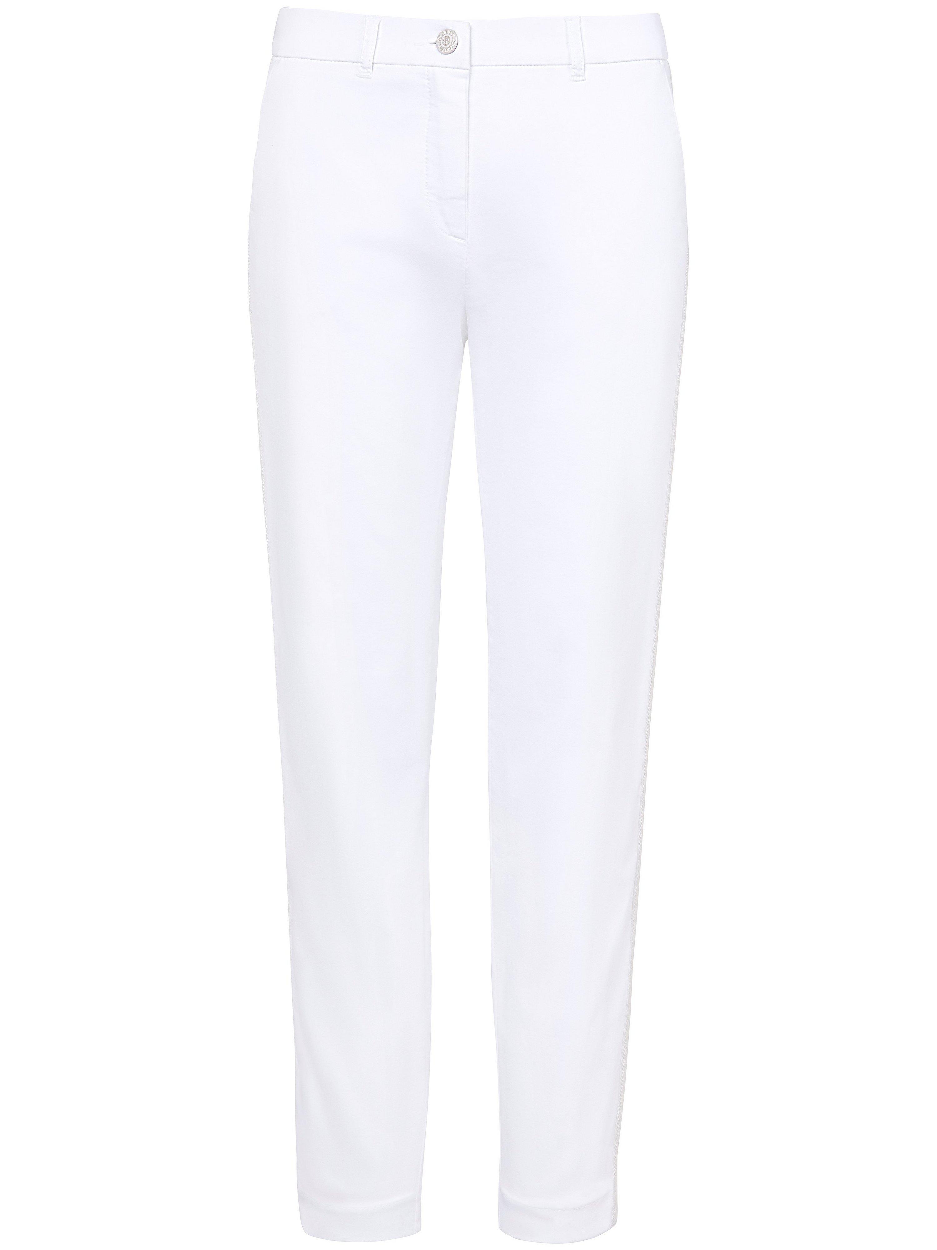 Le pantalon longueur chevilles coupe Slim Fit – CS  Toni blanc taille 40