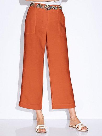 Peter Hahn - 7/8-broek pasvorm Cornelia met opgestikte zakken