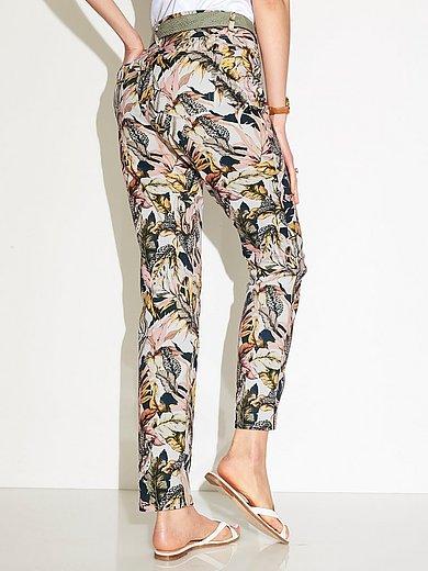 Peter Hahn - Jeans pasvorm Barbara met blaadjesprint