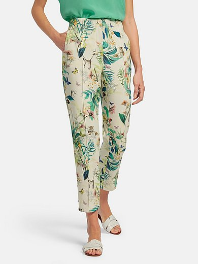 Gerry Weber - Ankle-length trousers with exotic print