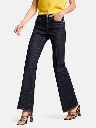 Laura Biagiotti ROMA - Le jean bootcut coupe 5 poches